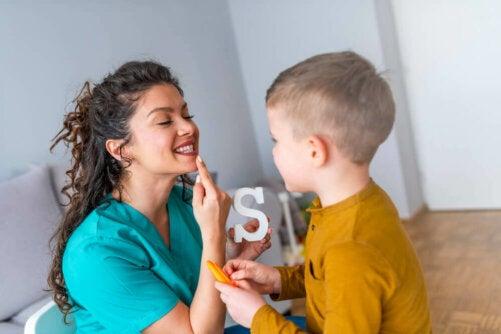 Hur man kan förbättra talfel hos barn