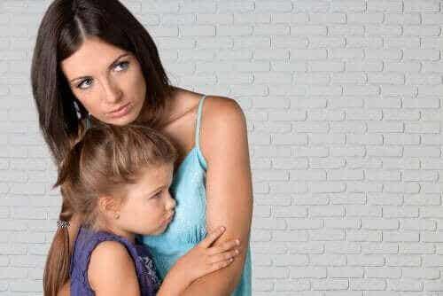 De känslomässiga konsekvenserna av en separation i familjen