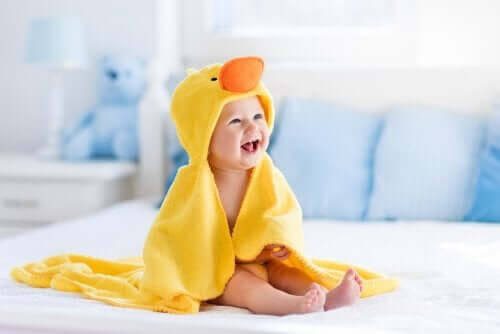 Utvecklingsstadierna under ett barns första år