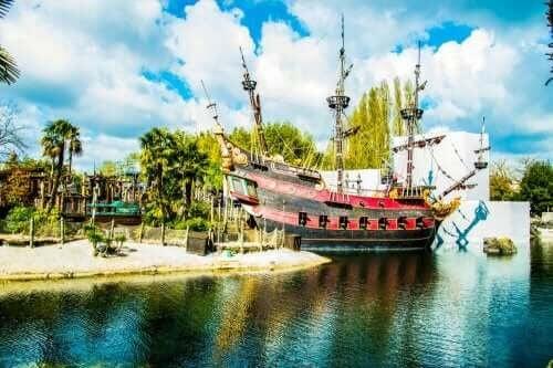 Disneyland Paris piratskepp