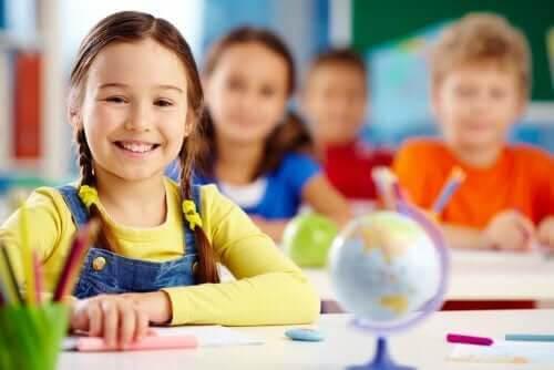 individuella skillnader: barn i skolmiljö