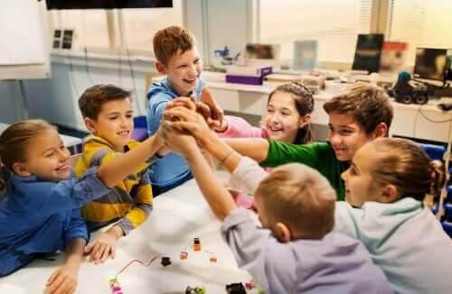 En personlig inlärningsmiljö: barn i skola