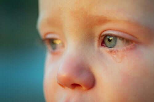 Hur vet man om ett barn är ledset?
