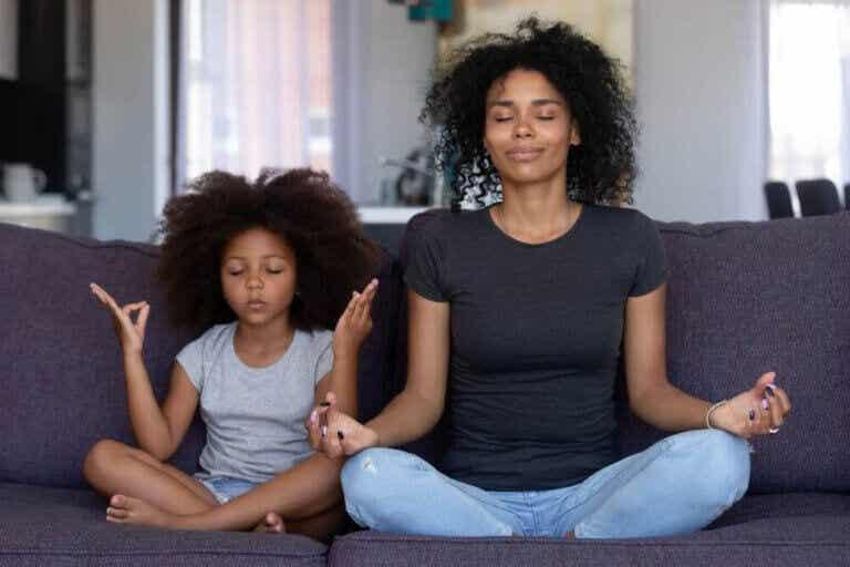 Mindfulness och meditation för hela familjen