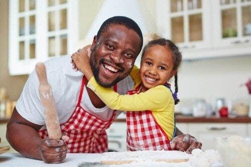 Fördelarna med att laga mat med dina barn