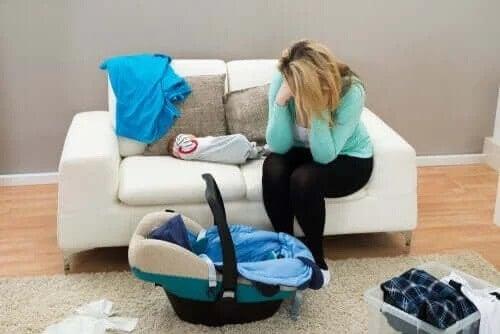 Skillnaden mellan baby blues och förlossningsdepression