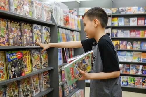 Fördelar med att läsa serietidningar för barn