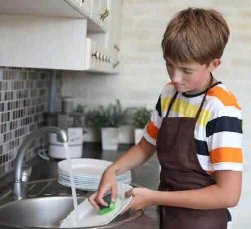 Ge dina barn egna hushållssysslor och sätt deadlines