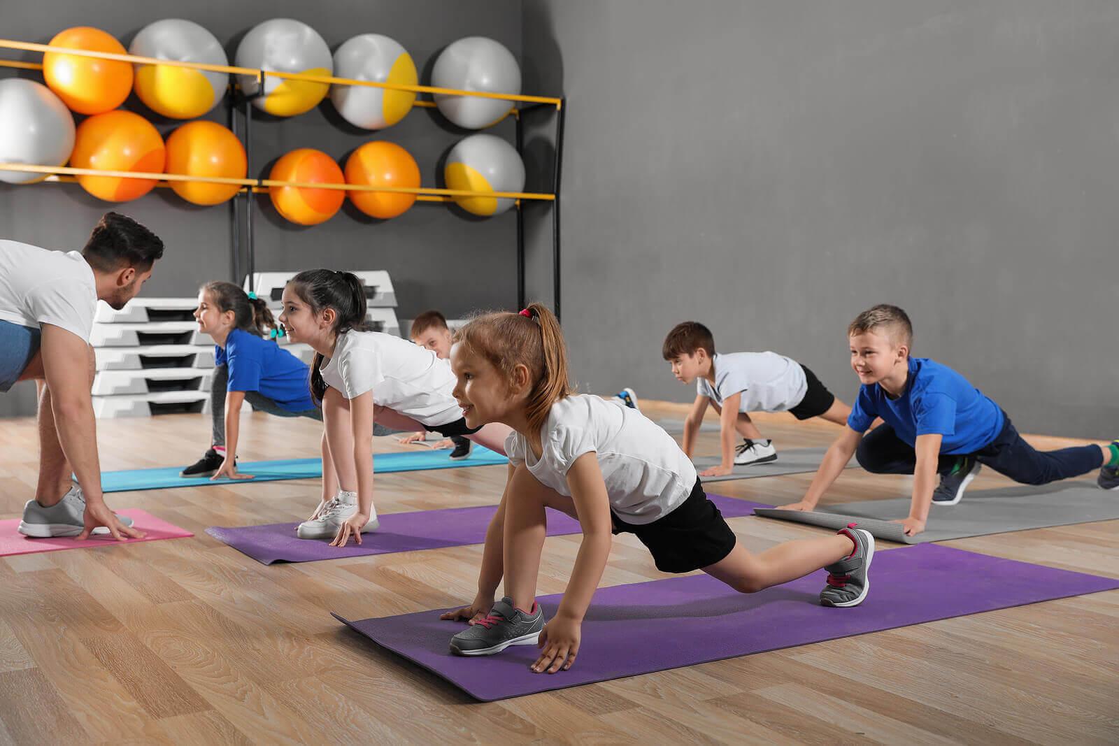 yoga i klassrummet