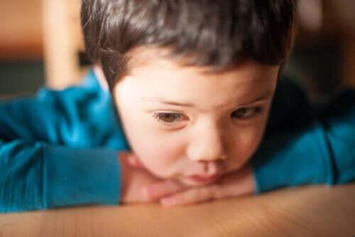 barn med dermoidcystor