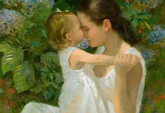 Mammas kyssar