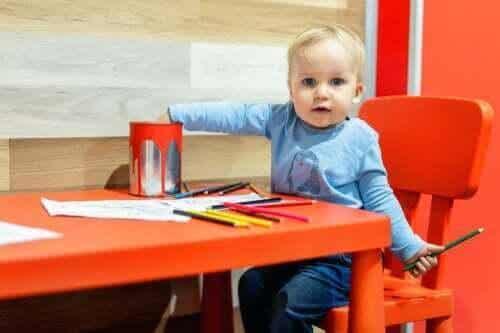 Utvecklingen av grafiskt uttryck hos barn