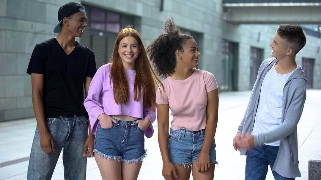 socialt strävande ungdomar