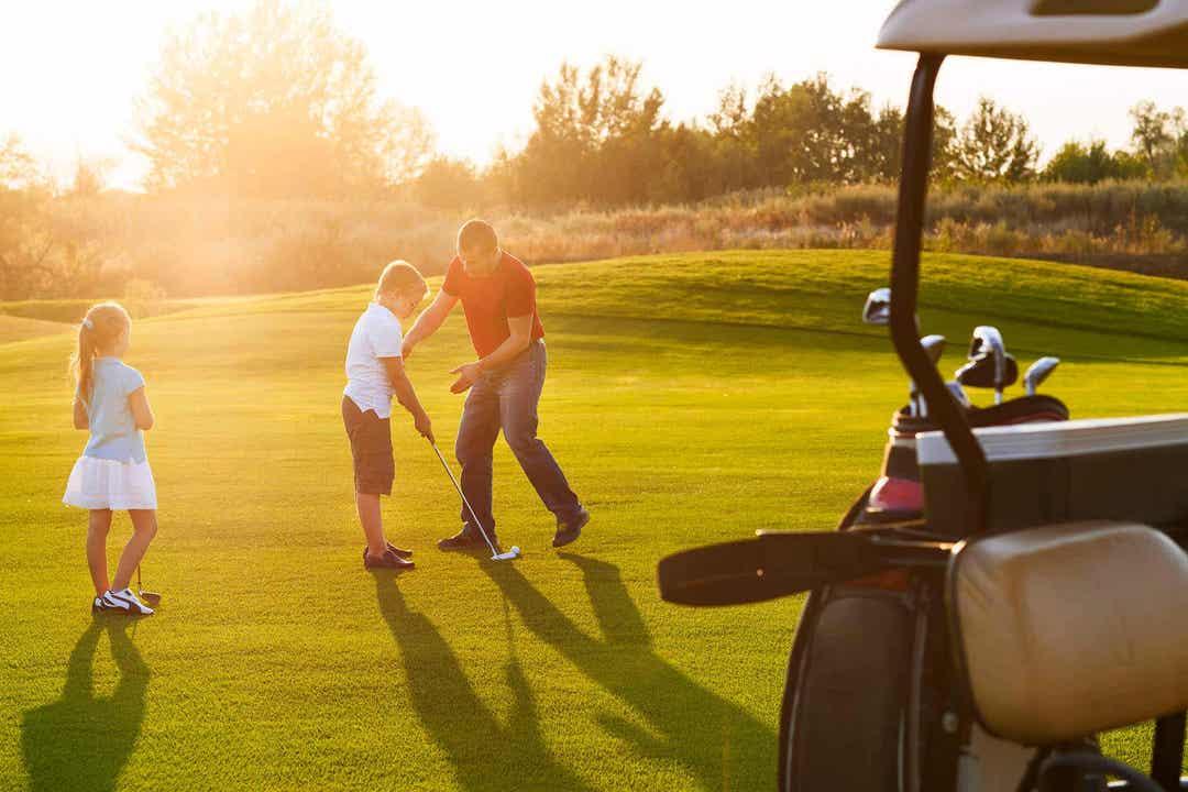 Barn med astma spelar golf