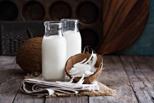 växtbaserade drycker cocos