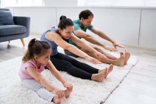 Uppmuntra barn att vara aktiva: det är livsviktigt