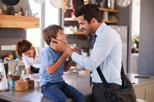 Säg alltid hejdå till dina barn innan du går hemifrån