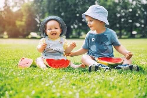 Beteendeförändringar hos barn som får syskon