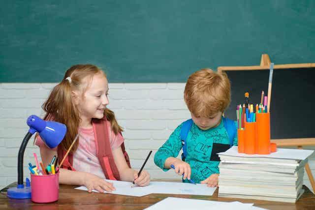 Barnens betyg visar inte hur bra de är i skolan