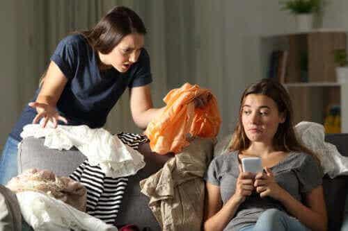 Varför ungdomar inte vill göra hushållssysslor