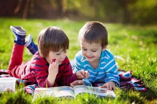 Några rekommenderade barnböcker om värdet av vänskap