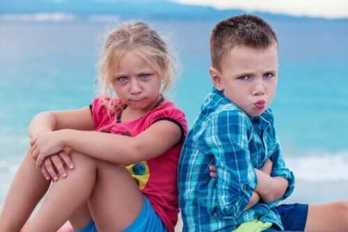 9 steg för barn att lösa konflikter