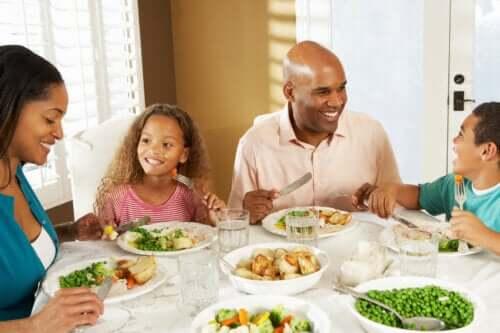 Uppmuntra goda matvanor hos barn