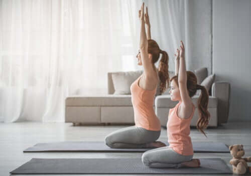 5 aktiviteter för att öka flexibiliteten hos barn