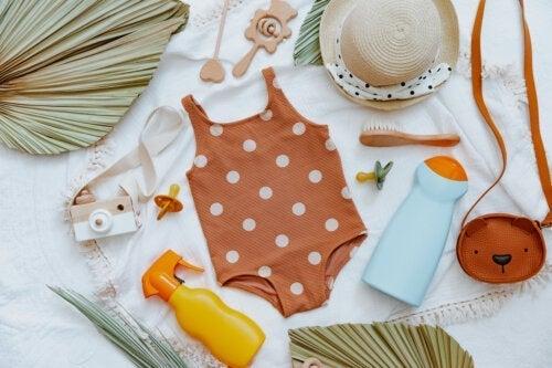 Naturliga solskyddsmedel för spädbarn: är de effektiva?