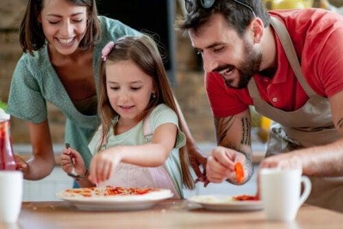 4 tips för att laga mat som familj