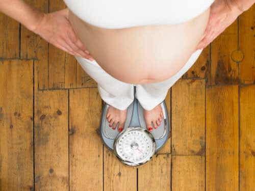 Hur man går ner i vikt under graviditeten utan att påverka barnet