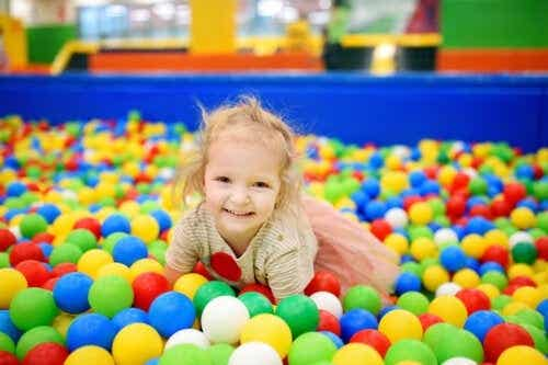 4 fördelar med bollhav för barn